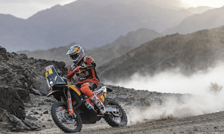 PRICE AND SUNDERLAND FINISH TOP 10 ON DAKAR STAGE FOUR