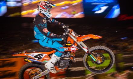 Tough Night for Baggett, Bogle at Anaheim 2 SX | Team Rocky Mountain ATV/MC-KTM-WPS Race Report