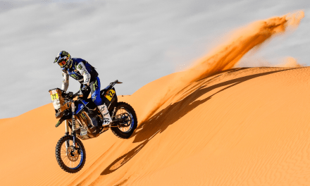 Strong Stage Six Performance From Monster Energy Yamaha Rally Team's Franco Caimi