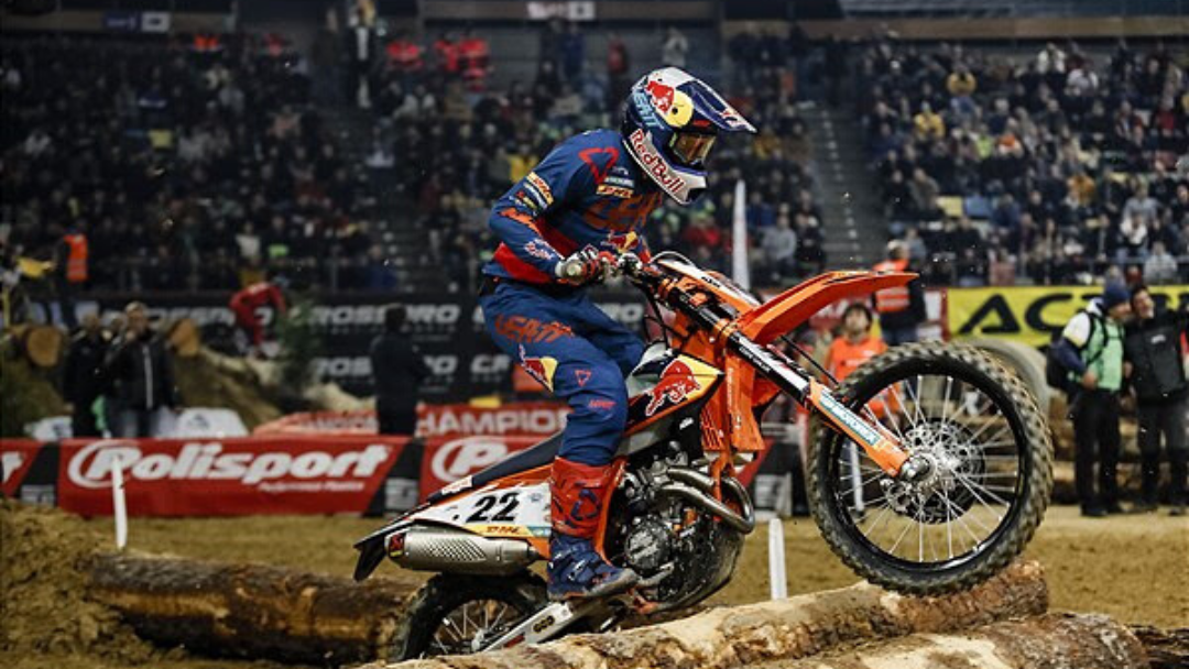 WALKER SECURES RUNNER-UP RESULT AT SUPERENDURO SPAIN