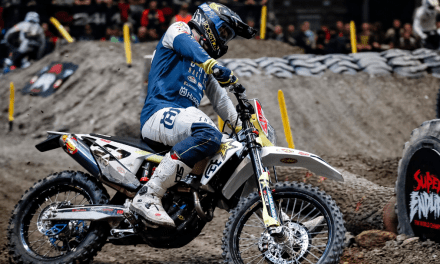BOLT ON WINNING FORM AT SUPERENDURO ROUND FOUR