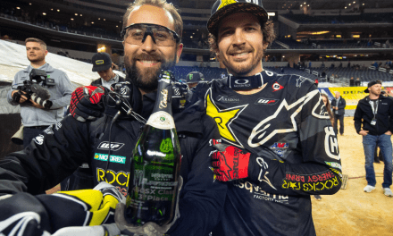 STRONG SHOWING FROM ROCKSTAR ENERGY HUSQVARNA FACTORY RACING AT SATURDAY'S ARLINGTON SX TRIPLE CROWN