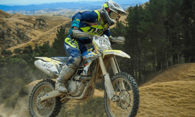 SUZUKI RM-Z450 PODIUMS IN NEW ZEALAND