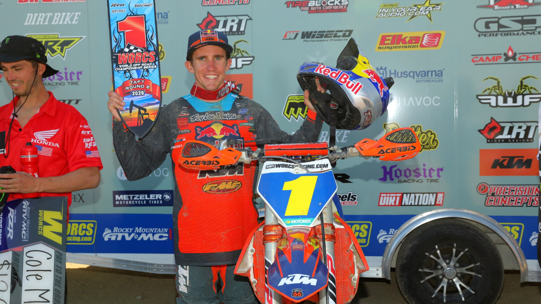 TAYLOR ROBERT ON TOP AT WORCS ROUND 2