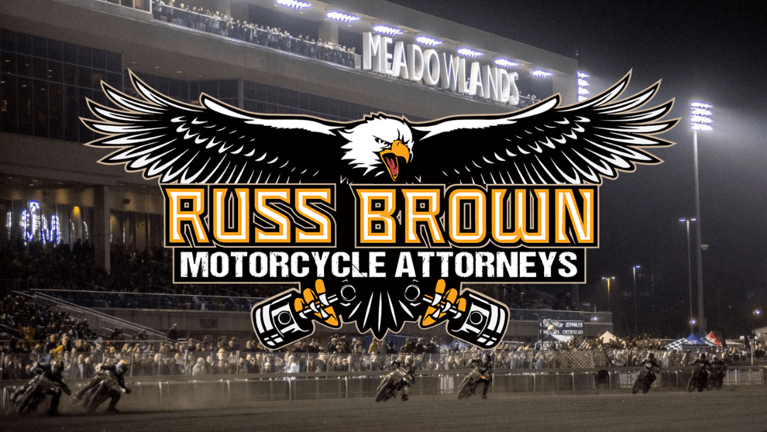 Russ Brown Motorcycle Attorneys and American Flat Track Renew Partnership for 2020