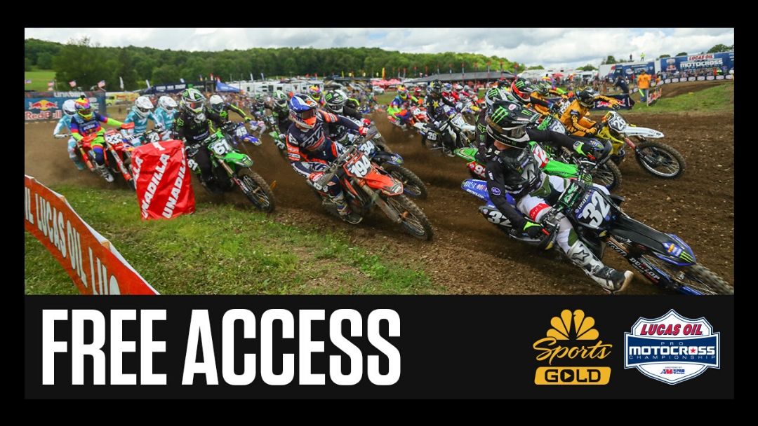 NBC Sports Gold Extends Free On-Demand Access to Pro Motocross Pass for Month of May