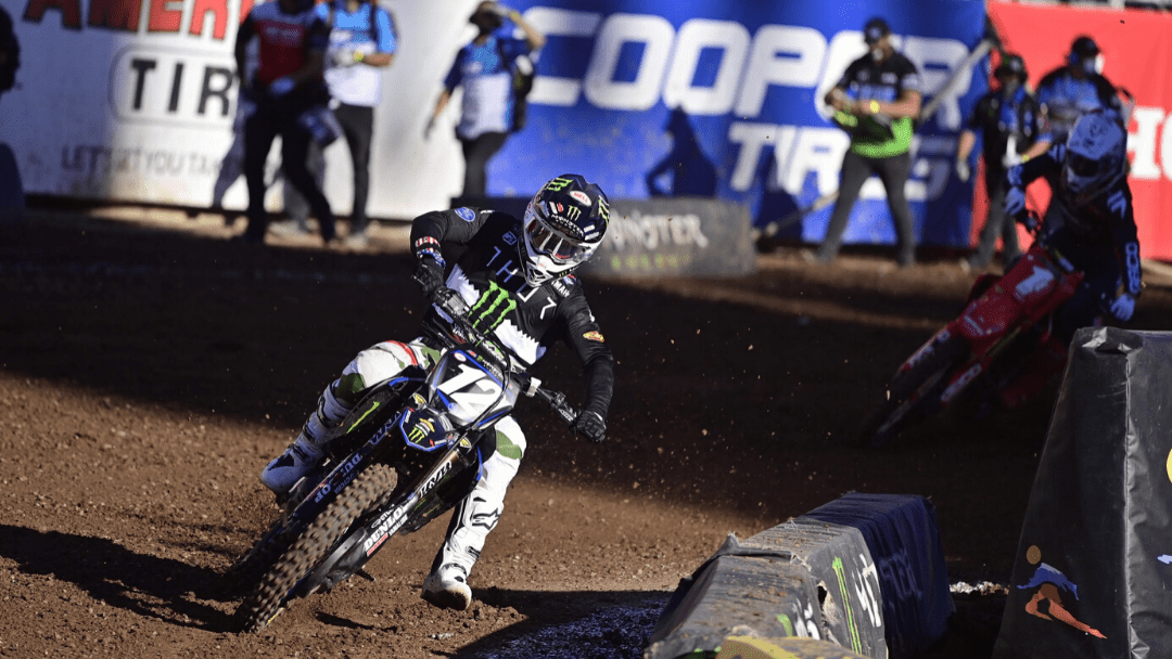 McElrath, Nichols Finish on the Podium at Penultimate Supercross Round