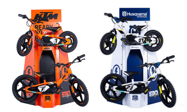 KTM & Husqvarna Co-Brand Stacyc Electric Balance Bikes