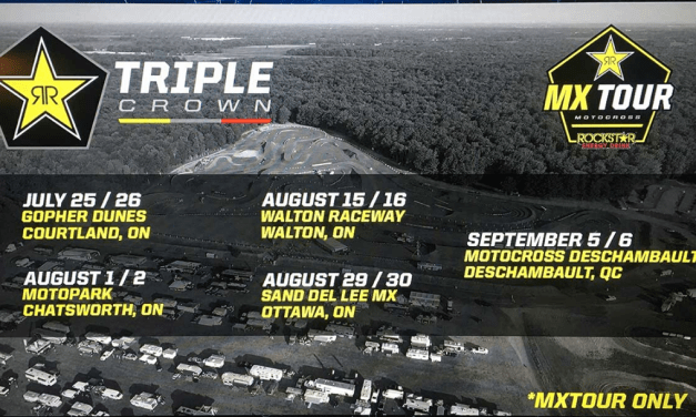 Updated 2020 Rockstar Energy Triple Crown MXTour Schedule