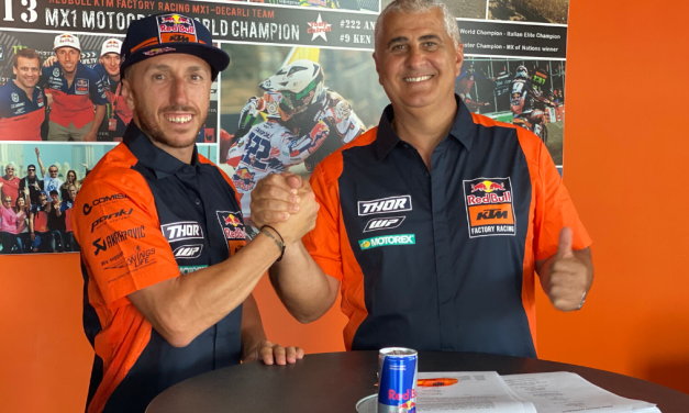 CAIROLI AND RED BULL KTM TO CHASE MORE VICTORIES TOGETHER IN 2021 MXGP