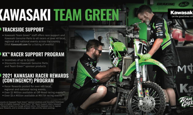 Kawasaki Team Green™ Releases 2021 Racer Rewards Program Along with the New and Improved KX™ Lineup