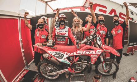 GASGAS FACTORY RACING FLIES TO VICTORY AT MXGP OF LATVIA!