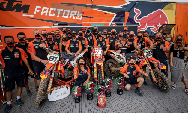 RED BULL KTM OWN BOTH CLASSES AGAIN AT FAENZA AS MXGP WRAPS FIRST ITALIAN TRIPLE HEADER