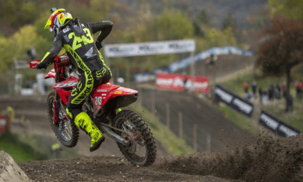 Second overall brings Gajser to within touching distance of fourth title