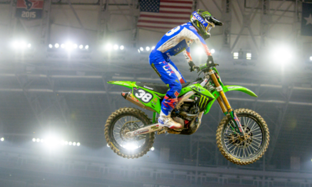 Monster Energy®/Pro Circuit/Kawasaki Rider Austin Forkner Starts 2021 Season on the Podium