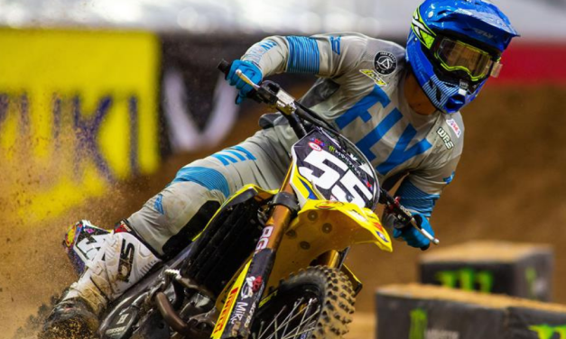 SUZUKI AND SHORT TOP-10 AT HOUSTON 3 SUPERCROSS