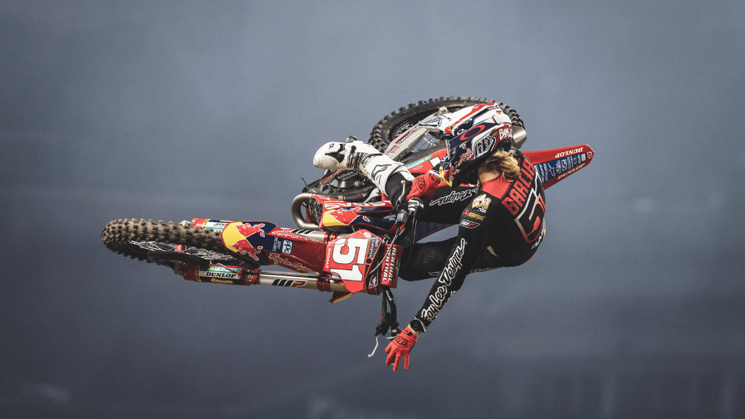 TOP-FIVE FINISHES FOR BARCIA AND MOSIMAN AT ROUND 3 OF AMA SUPERCROSS