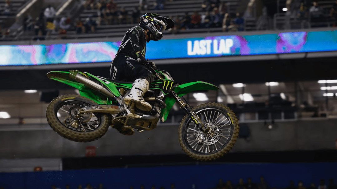 Monster Energy® Kawasaki Rider Eli Tomac Scores Top-5 Finish in Orlando