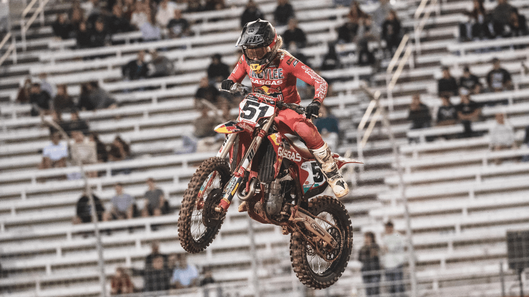 TROY LEE DESIGNS/RED BULL/GASGAS FACTORY RACING WRAPS UP ATLANTA SX WITH A TOP 5 FROM JUSTIN BARCIA