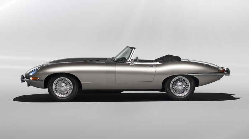 Jaguar Will Build All Electric E Types