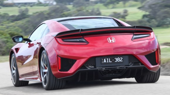 Honda NSX hybrid sports car coupe