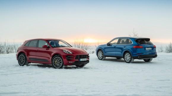 Porsche Cayenne and Macan SUV