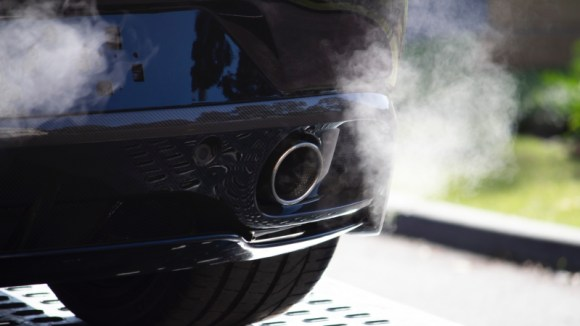 Exhaust gas pollution