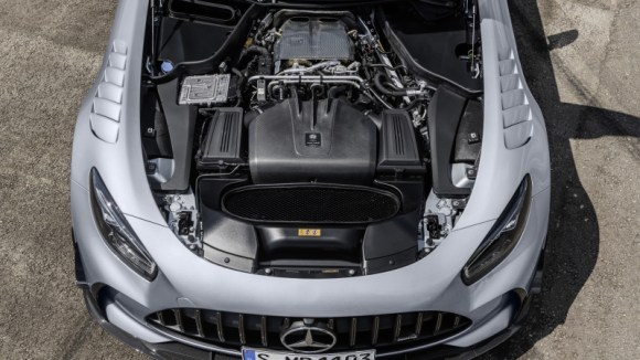 Mercedes-AMG GT Black Series engine