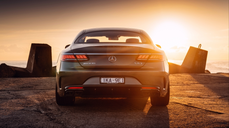 Mercedes-AMG S63 coupe tail