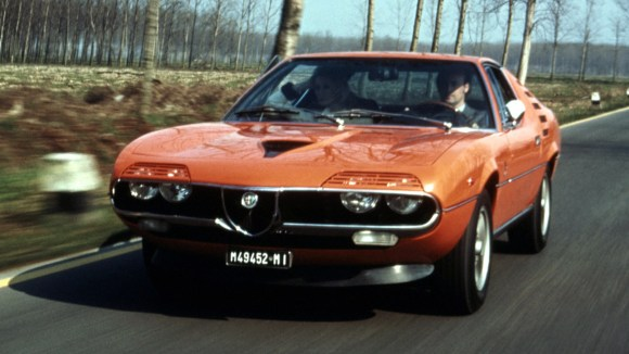 Alfa Romeo Montreal drive