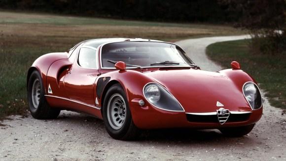 Alfa Romeo Tipo 33 Stradale single headlight model production version
