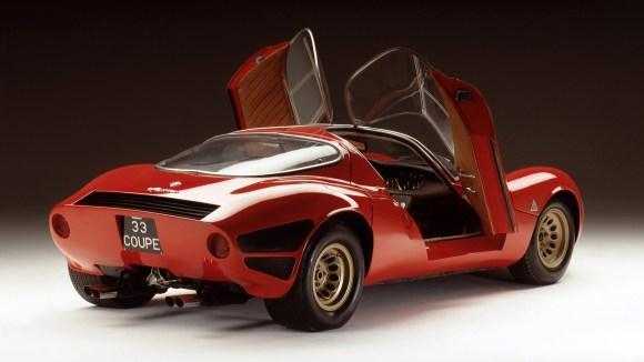 Alfa Romeo Tipo 33 Stradale butterfly door open