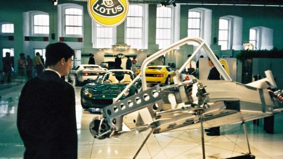 Lotus Elise chassis motorshow