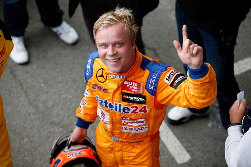 Rosenqvist claimed the 74rd Grand Prix de Pau with a brilliant display. © FIA F3 Media Services.