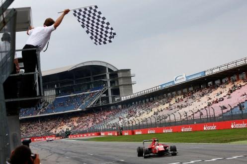 Mardenborough won in Germany. © Sam Bloxham/GP3 Series Media Service.
