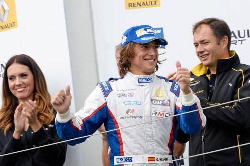 Merhi was a FR3.5 race winner in 2014. © Renault Sport Media.