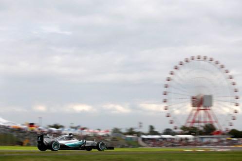 Lewis Hamilton. © MERCEDES AMG F1 TEAM