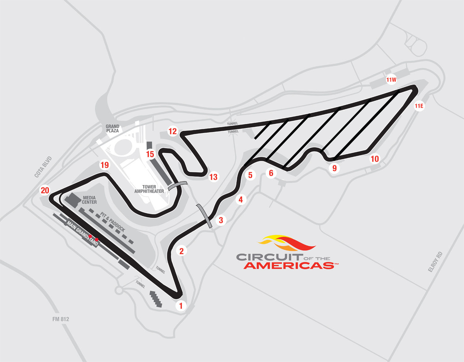 The Lone Star Le Mans Circuit Of The Americas