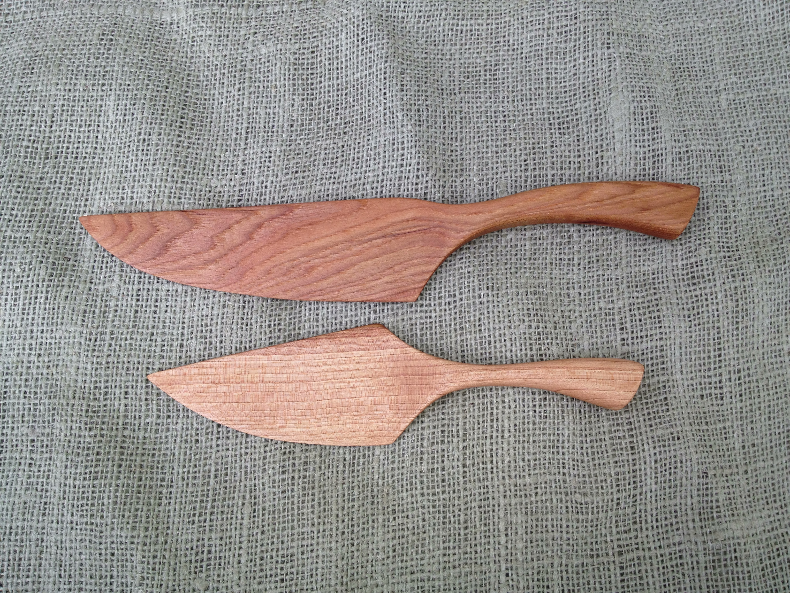 Wedding Gift Set For That Wedding Cake A Wooden Cake Knife