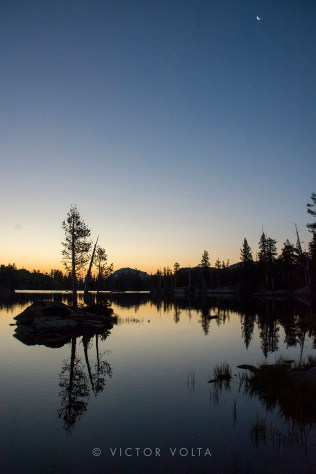 Middle Velma Lake - Sunrise
