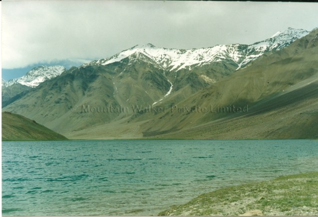 Chandrataal Lake can be reached by trekking from Kunzum Pass or by road/trek from Batal ; Photo: Abhishek Kaushal