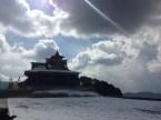 Cosmic winds of change atop Mount Hatu; photo: sanjay mukherjee