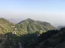 Another view of the Garhwal Himalayas from the Tehri Road in Mussoorie; Photo: Swarjit Samajpati