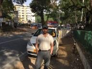 Swarjit Samajpati - Mountain Walker fellow traveller and avid blogger, on the break near Dehradun, en-route to Mussoorie (15th May 2016)