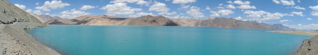 Pangong Tso can be reached from Leh by crossing over the Changla Pass; Photo: Abhishek Kaushal