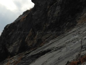The 'Faces' rockface