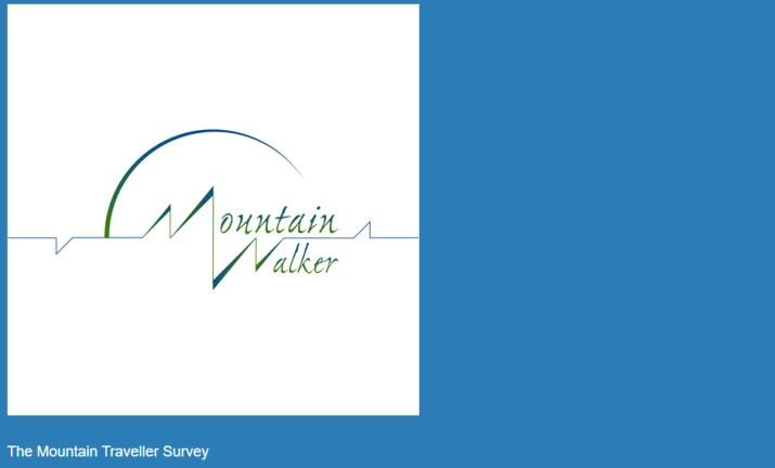 The Mountain Walker Traveler Survey