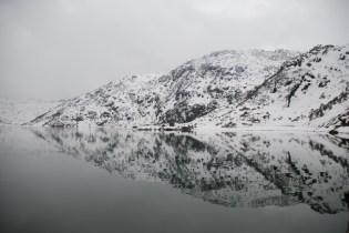Rippled mirror effect of Tsomgo Lake; Photo: Abhishek Kaushal