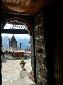 View from one of the main Gates in the Bhimakali Temple complex; Photo: Abhinav Kaushal