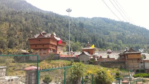 View of the Bhimakali Temple complex; Photo: Abhinav Kaushal